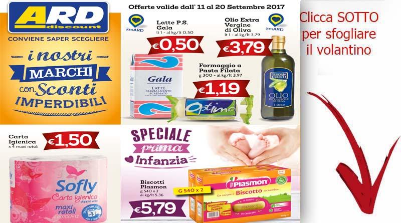 Offerte sicilia volantino supermercati ard valido fino al for Volantino ard discount milazzo