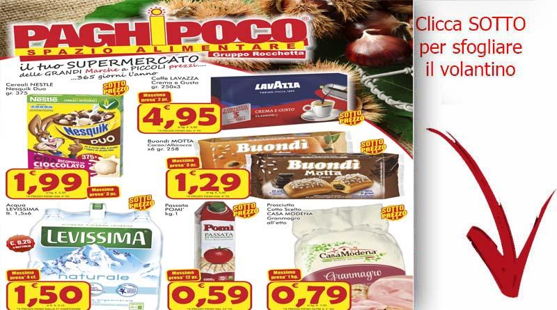 Offerte catania volantino paghi poco offerte valide dal 19 for Volantino super conveniente catania