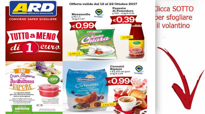 Ard offerte sicilia for Volantino ard discount milazzo