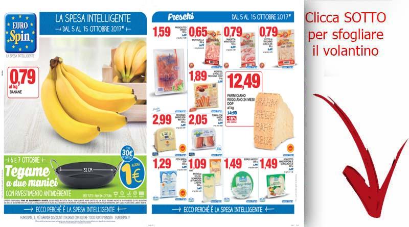 Volantino eurospin sicilia dal 5 al 15 ottobre offerte for Volantino ard discount milazzo