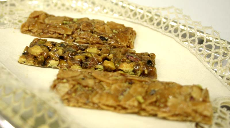 Ricette dolci siciliani croccante al pistacchio e alla for Volantino acqua e sapone sicilia