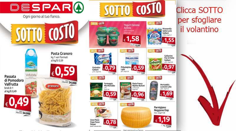 Volantino despar da despar dal 02 10 al 11 10 offerte for Volantino offerte despar messina