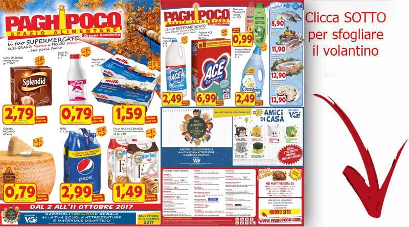 Volantino paghi poco sicilia catania ricette siciliane for Super conveniente catania
