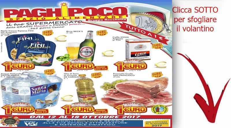 Offerte catania volantino paghi poco offerte valide dal 12 for Volantino super conveniente catania