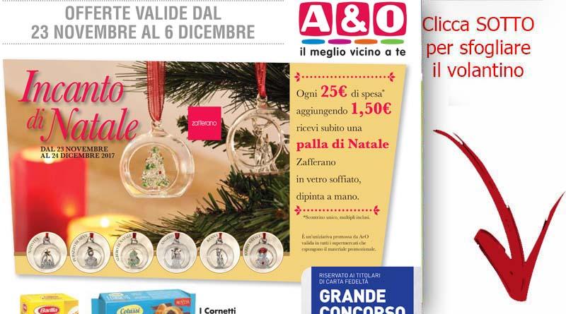 Volantino a o valido da oggi fino al 6 dicembre sicilia for Volantino acqua e sapone sicilia