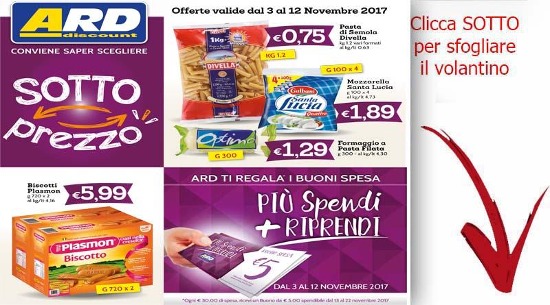 Ard discount archivi ricette siciliane volantini notizie for Volantino ard discount milazzo