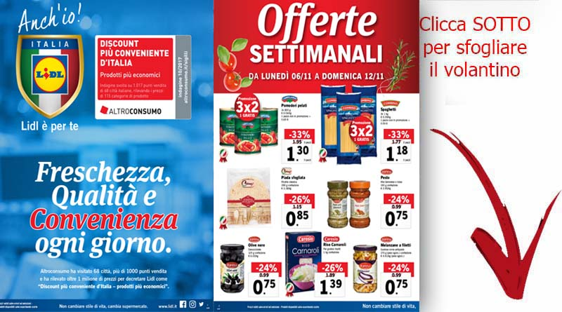 Nuovo volantino lidl catania patern ricette siciliane for Volantino ard discount milazzo