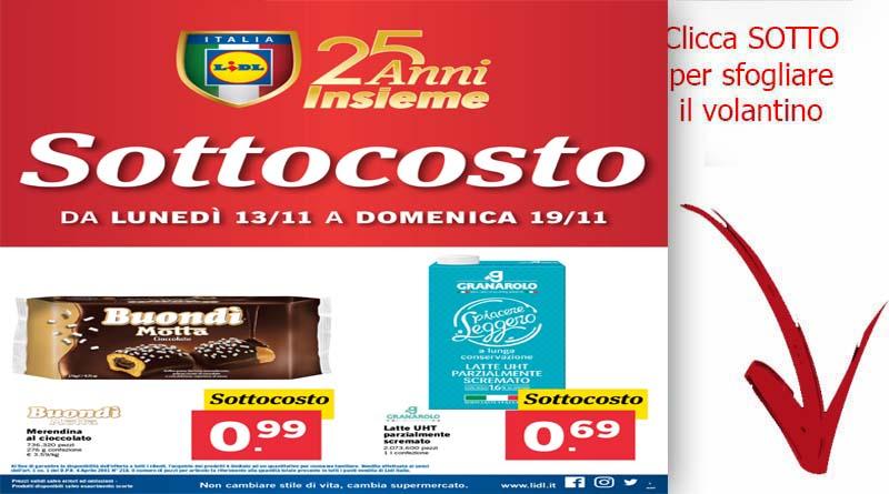 Volantino lidl fino al 19 novembre ricette siciliane for Volantino ard discount milazzo