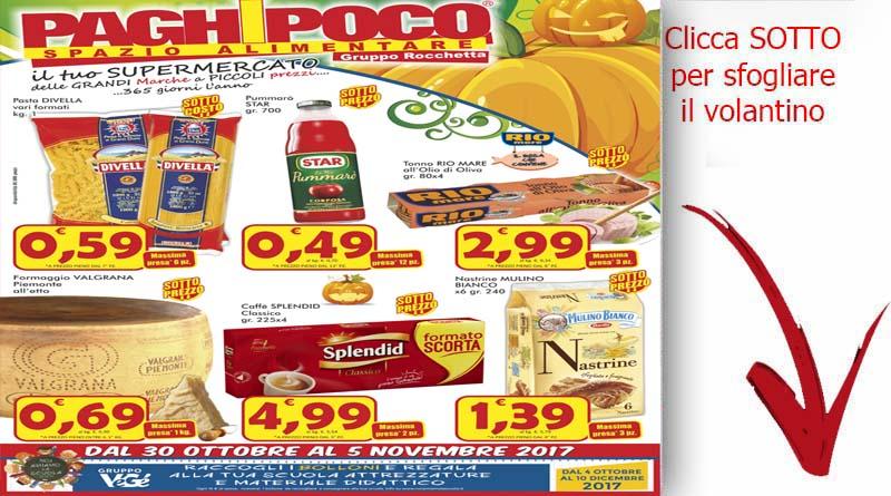 Volantino catania paghi poco novembre volantini ricette for Volantino super conveniente catania