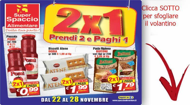 Volantino offerte catania super spaccio alimentare dal 22 for Volantino offerte super conveniente catania