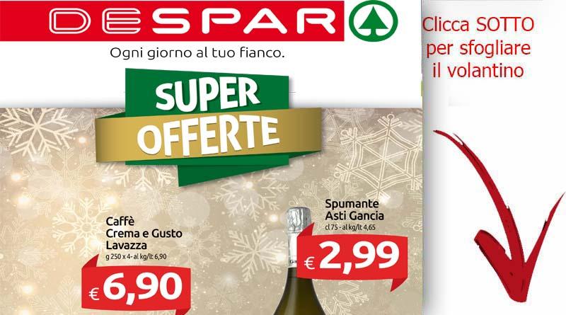 Volantino despar valido fino al 13 dicembre ricette for Volantino ard discount milazzo