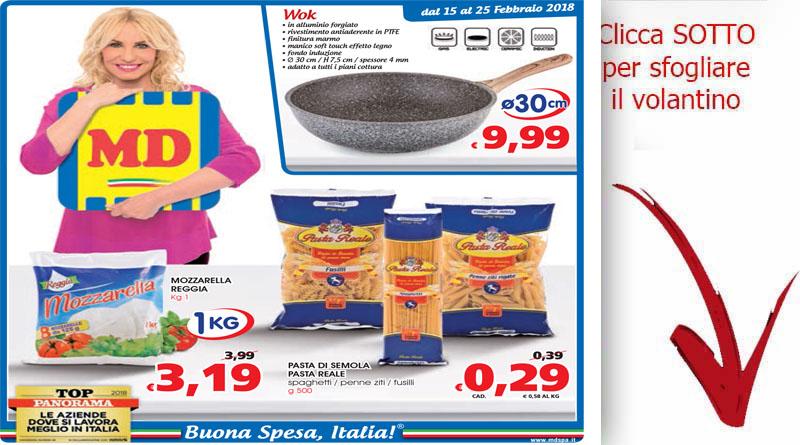 Volantino md discount valido dal 15 al 25 febbrario for Volantino ard discount milazzo