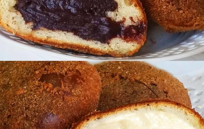 Ricetta iris siciliana al cioccolato e alla crema bianca for Volantino super conveniente catania