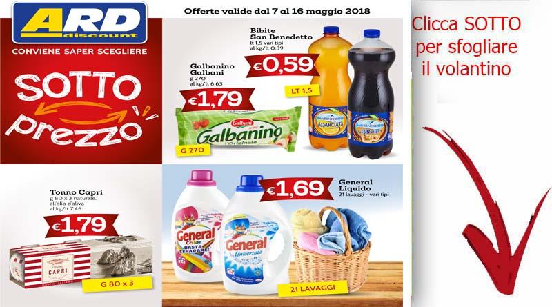 Volantino ard valido dal 7 al 16 maggio archivi ricette for Volantino ard discount milazzo