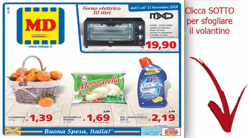 Volantino md discount valide dal 1 al 11 novembre for Volantino ard discount milazzo
