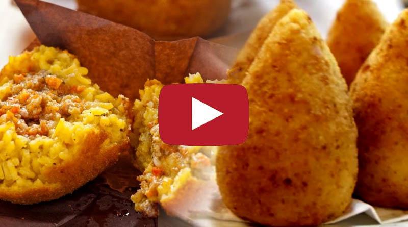 Video Ricette Arancini Siciliani