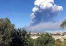 Etna arriva  la cenere a Catania aeroporto chiuso