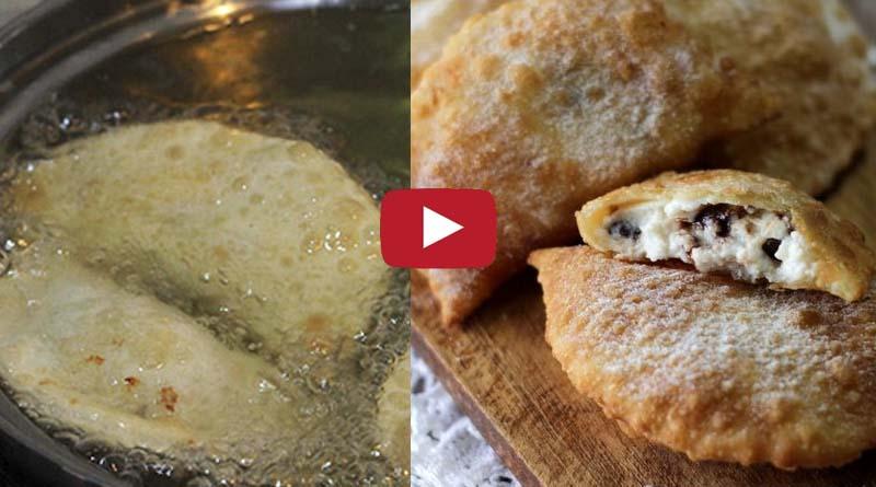Ricetta – Cassatelle siciliane con crema di ricotta e gocce di cioccolato – Raviola di ricotta fritta
