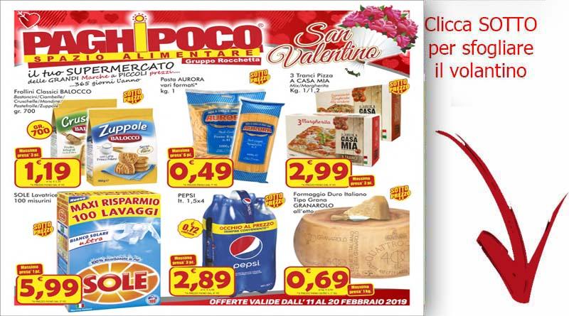 Volantino Paghi Poco Dal 11 Al 20 Febbraio Ricette Siciliane