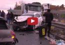 Gravissimo incidente sulla SS121