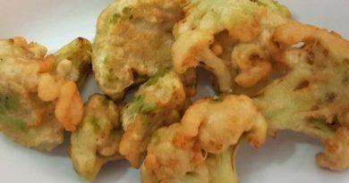 Broccoli in pastella fritti