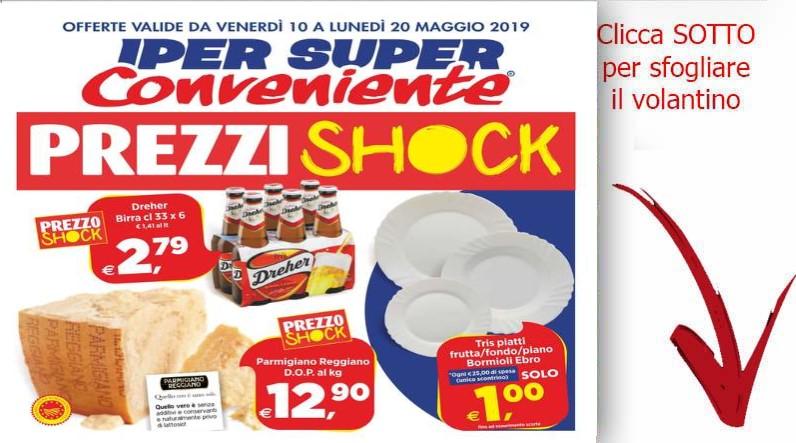 Volantino super conveniente valido dal 10 al 20 maggio for Volantino super conveniente misterbianco
