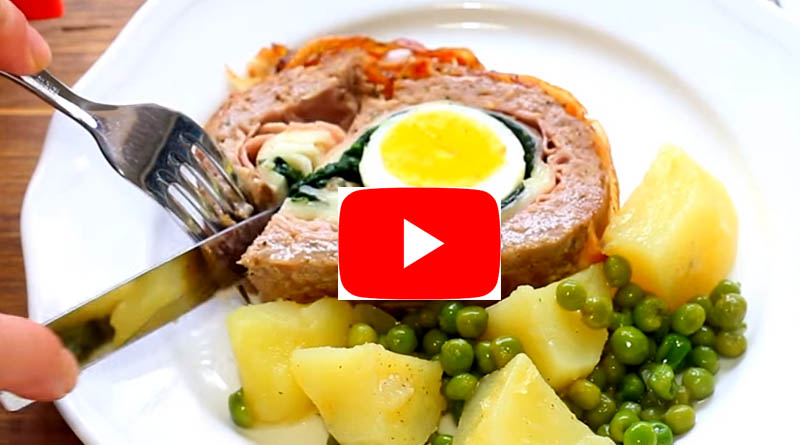 Video Ricetta Falso Magro o polpettone Siciliano