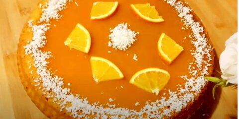 Torta all' arancia