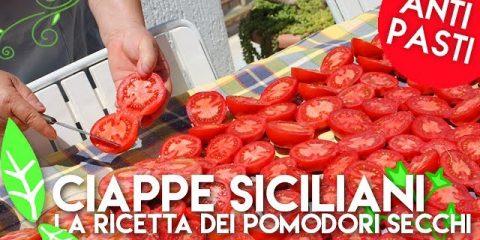 Ricette Siciliane pomodori Secchi