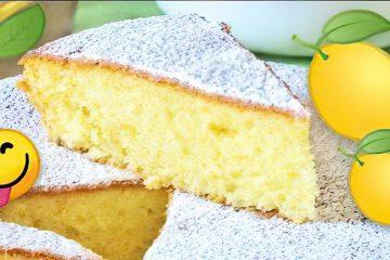 Ricette Siciliane torta della nonna al limone