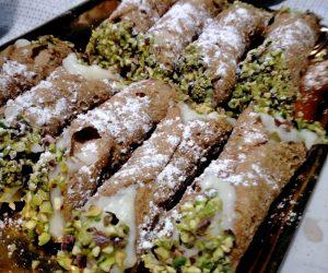 Ricetta Siciliane Cannoli pistacchio