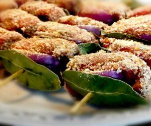 ricette siciliane involtini alla palermitano